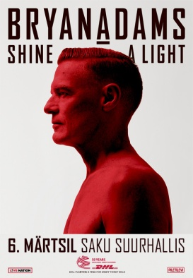 BRYAN ADAMS - Shine A Light Tour