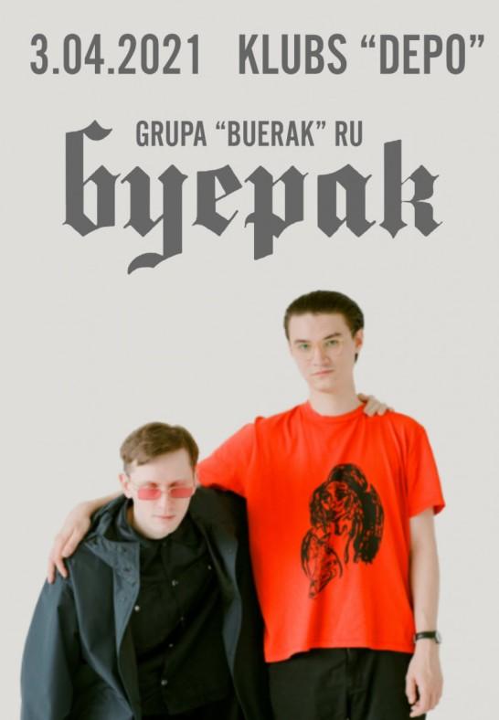 TIKS PĀRCELTS - Grupa 'BUERAK' (RUS) (Pārcelts no 28.04.2020.)