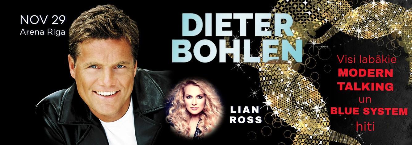 Dīters Bolens (Dieter Bohlen) un Blue System koncerts