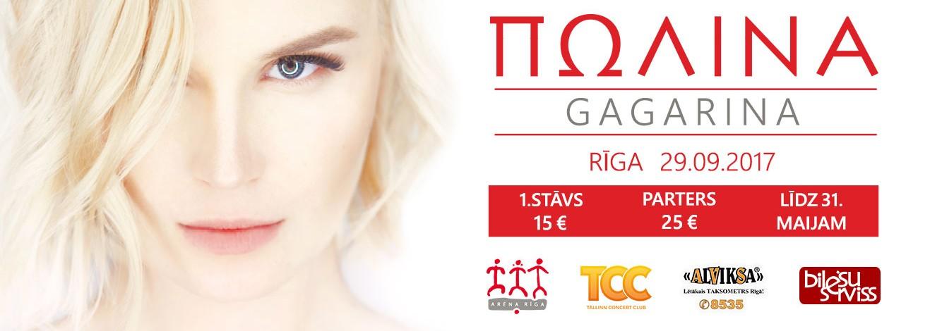 Rīgā ar lielkoncertu uzstāsies Poļina Gagarina!