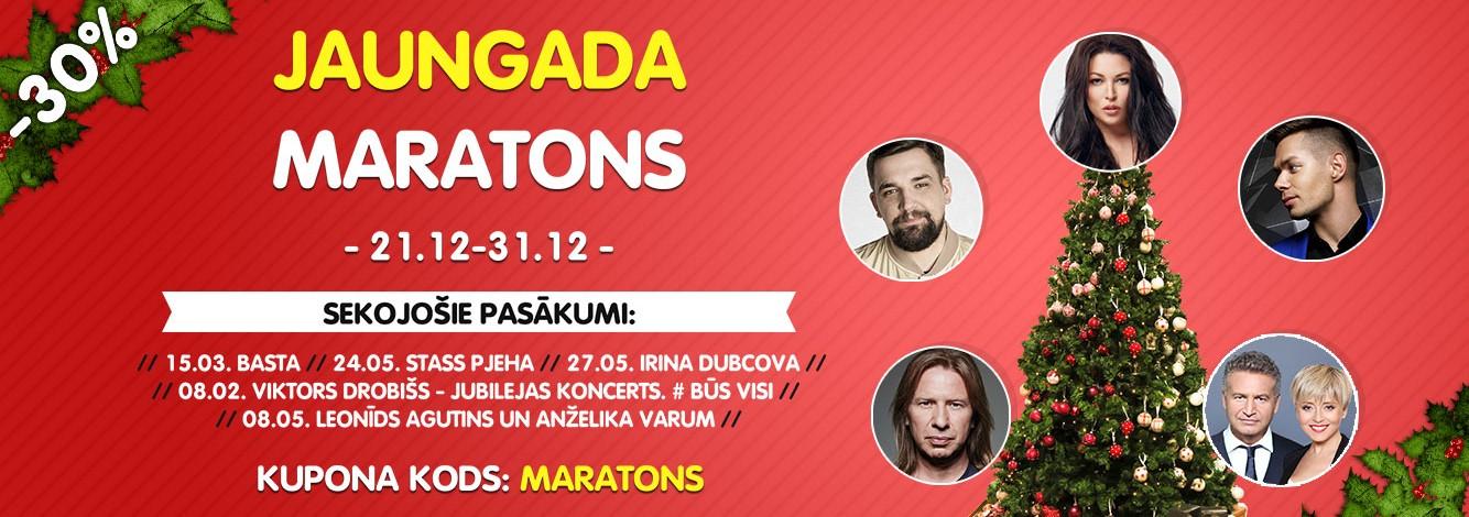 Akcija Jaungada biļešu Maratons!