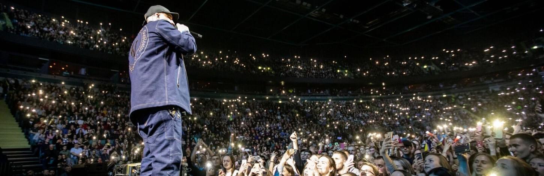 В Риге с большим концертом выступит рэпер Баста