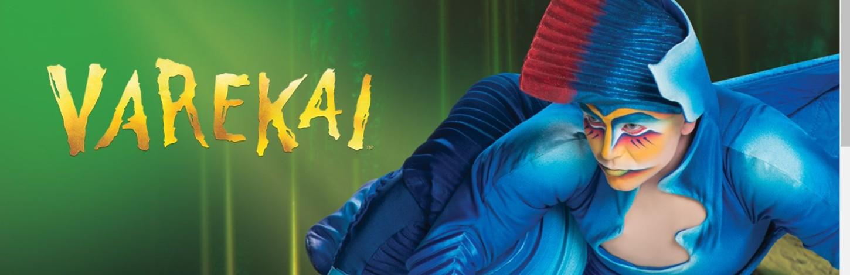Cirque du Soleil возвращается в Ригу с Varekai!